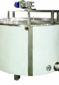 Ванна сыродельная открытого и закрытого типа